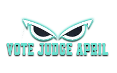 Logo Vote Judge April